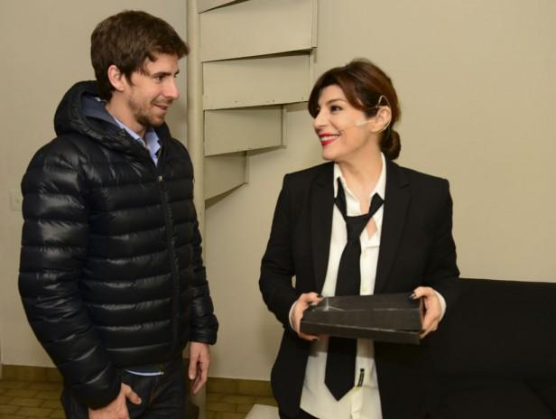 Carolina Papaleo se presentó con éxito en el Teatro Martinelli
