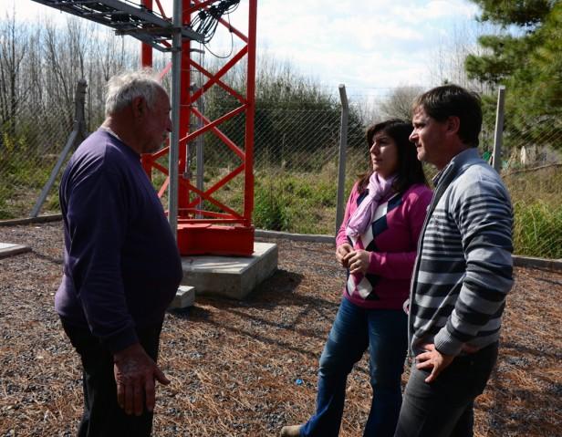 Se instalaron nuevas antenas de telefonía en el Delta de San Fernando