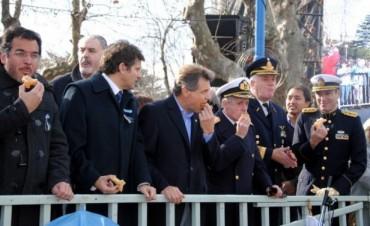 Multitud participó del festejo de los 199 años de la Independencia de