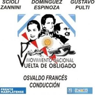 Fuerte apoyo a la formula Scioli-Zannini,Domínguez-Espinoza y Gustavo