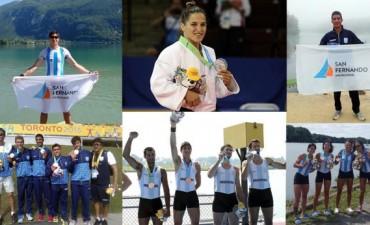 El Municipio felicita a los atletas sanfernandinos que compiten en los Juegos Panamericanos