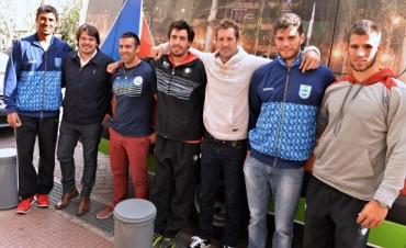 El Municipio despidió a la Selección de Canotaje que partió rumbo a Milán 2015