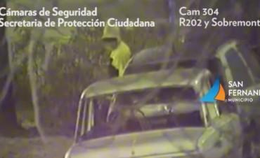 Patrullas Municipales de San Fernando detienen a dos hombres que intentaban robar autos