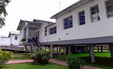 Continúan las mejoras del Municipio en el Hospital de Islas Dr. Oscar Do Porto