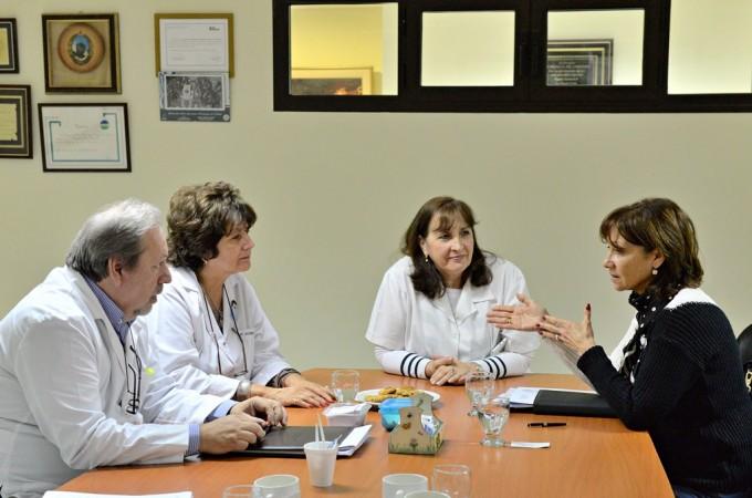 El Municipio y el Hospital Provincial acordaron una agenda de trabajo conjunto
