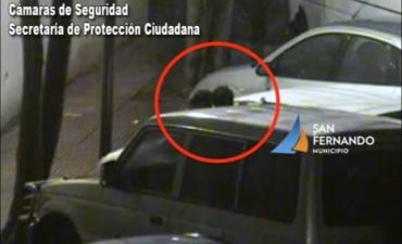 San Fernando: intentaron robar un auto estacionado, pero fueron detenidos por las Patrullas Municipales