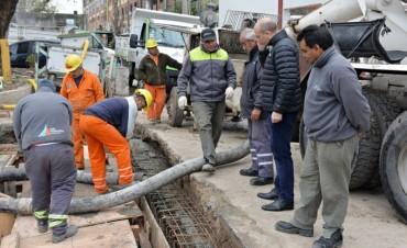 San Fernando construye un nuevo reservorio de agua para el Túnel de Avellaneda