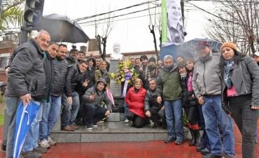 El Frente Renovador de San Fernando recordó a Evita a 64 años de su fallecimiento