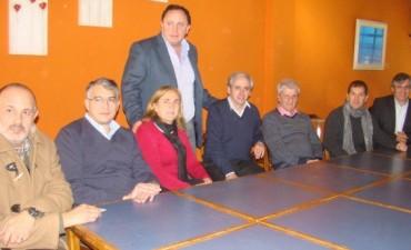 """Andreotti, en reunión del Frente Renovador: """"Bregamos por una nueva ley de coparticipación"""""""