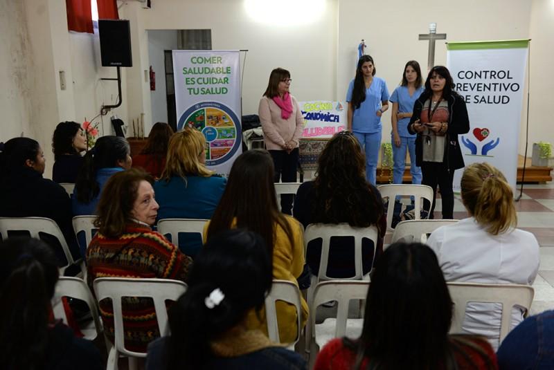 """San Fernando dictó un taller de """"Cocina Económica y Saludable"""""""