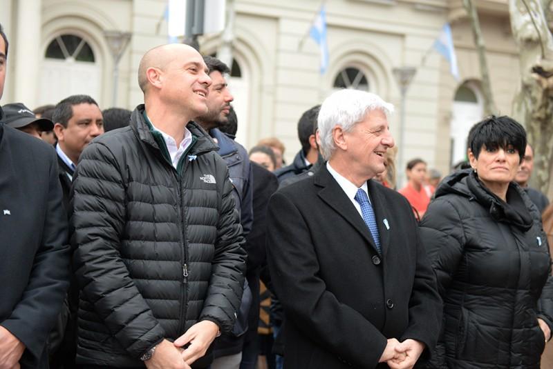 Luis Andreotti celebró el 201° aniversario del Día de la Independencia