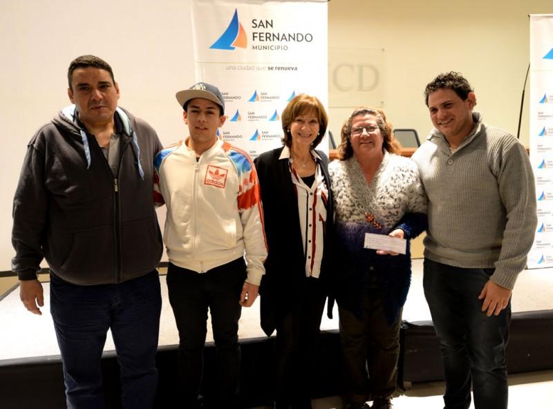 San Fernando premió a las murgas por un programa de salud infantil