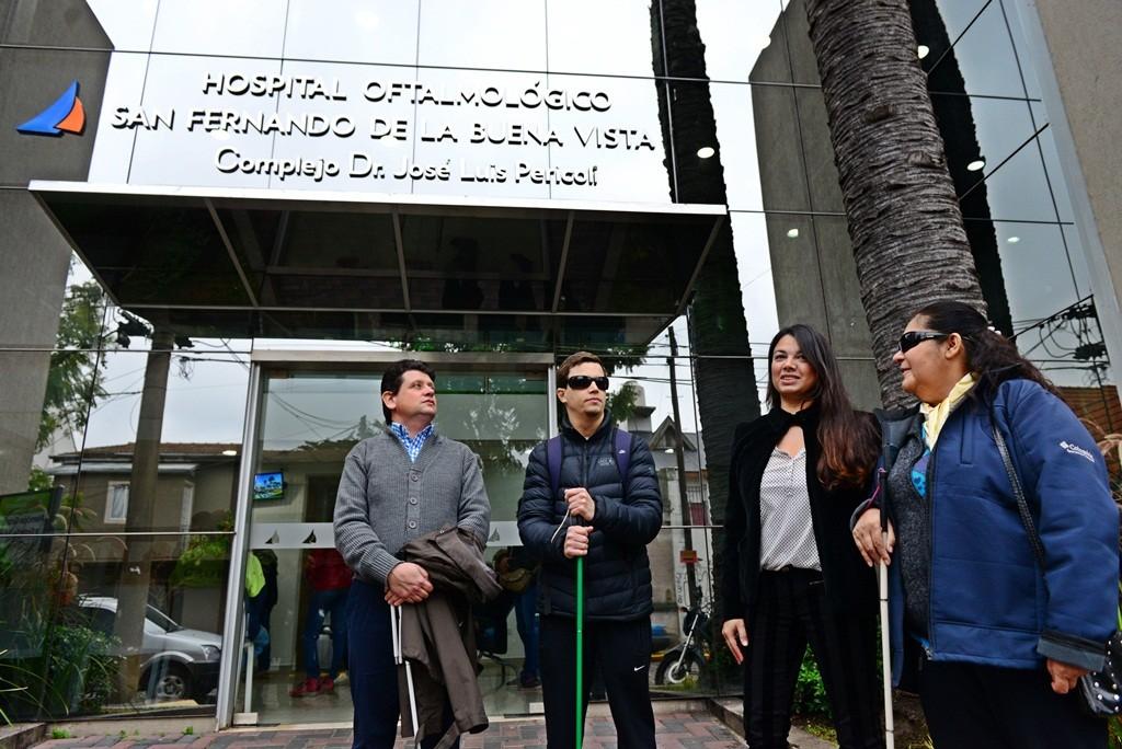 El Hospital Oftalmológico de San Fernando ya tiene su cartelería en Braille