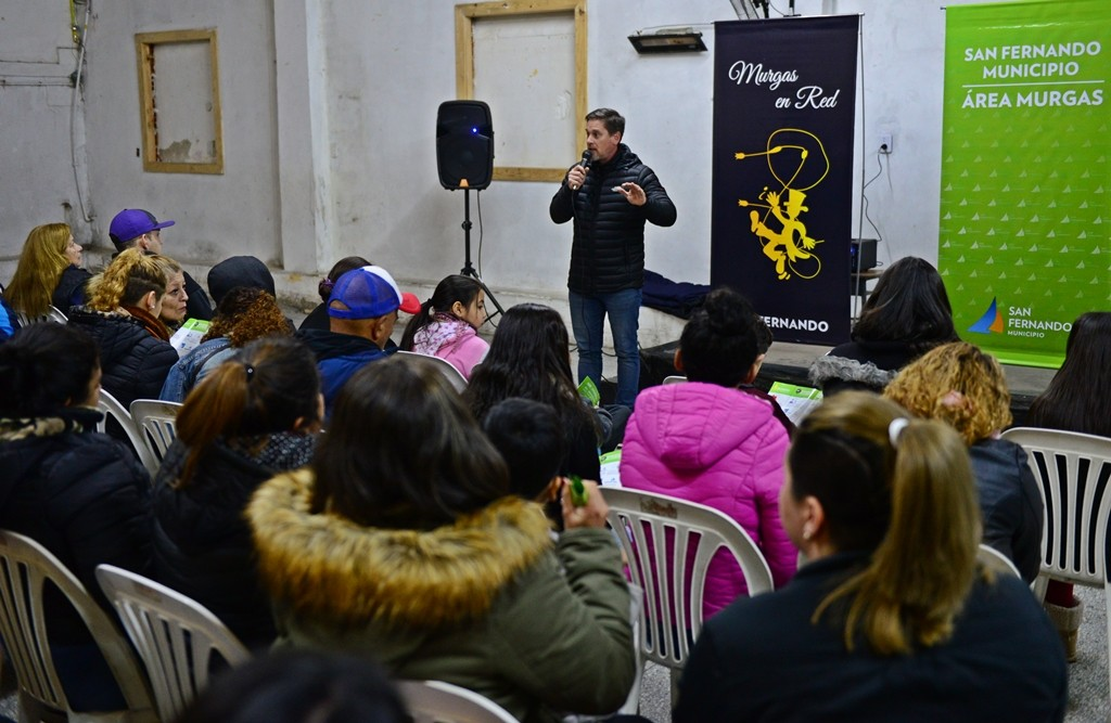 San Fernando y Murgas en Red trabajan juntos en Prevención de Accidentes Domésticos en el invierno