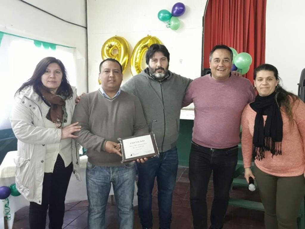 San Fernando presente en 90° aniversario del Club 9 de Julio de Paraná Miní