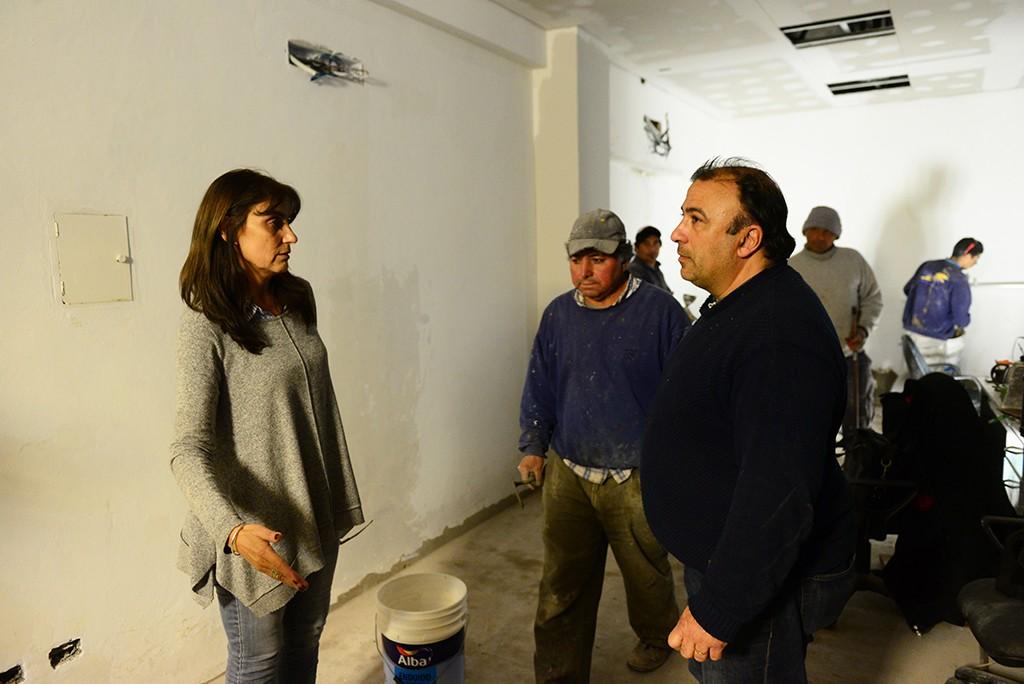 San Fernando: Avanza la renovación de la Secretaría de Obras Públicas