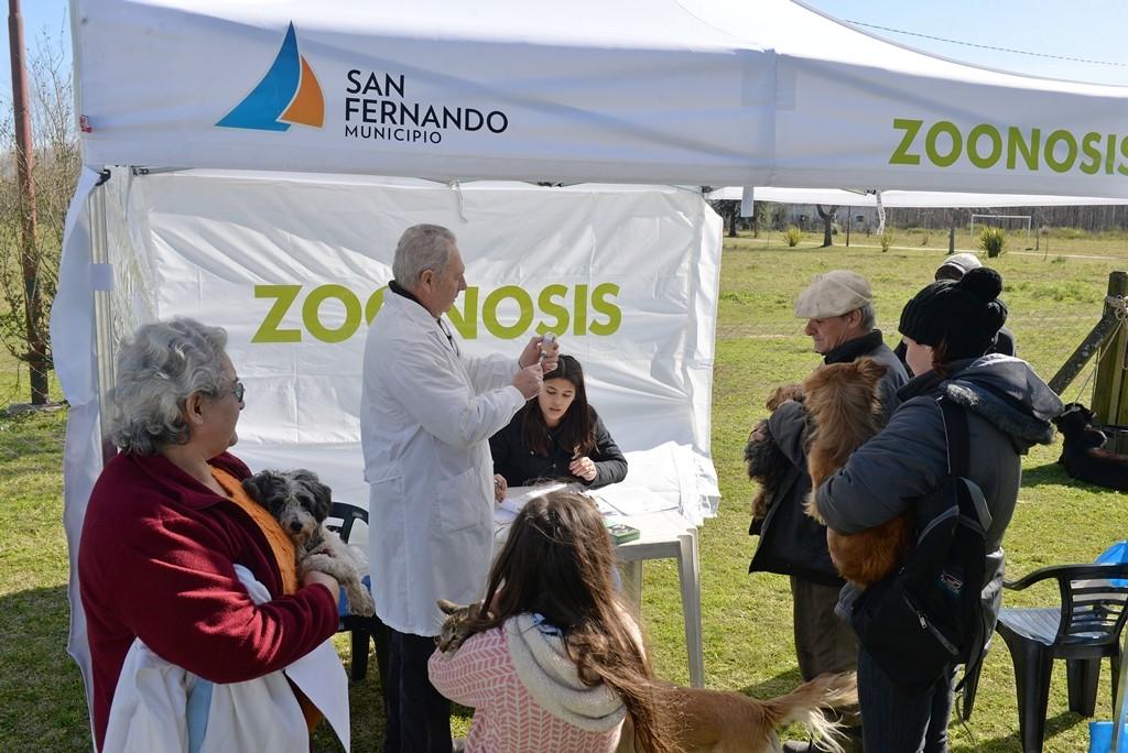Salud Pública y Zoonosis del Municipio sostuvieron un operativo especial en el delta sanfernandino