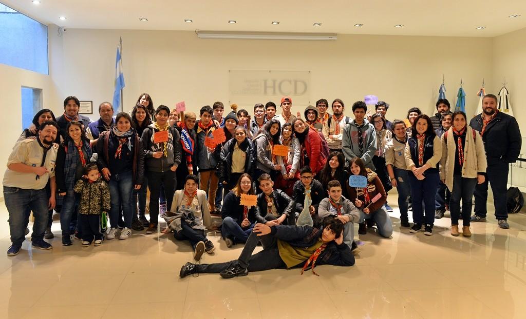 El HCD de San Fernando fue sede de un foro juvenil de Scouts Argentina