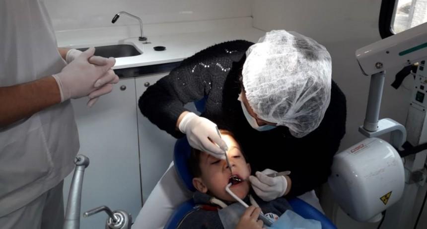 El Municipio realizó un control odontológico a los chicos del CEIM N° 2