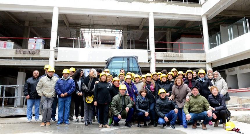 Cada vez más vecinos conocen las instalaciones del futuro Hospital Municipal de San Fernando