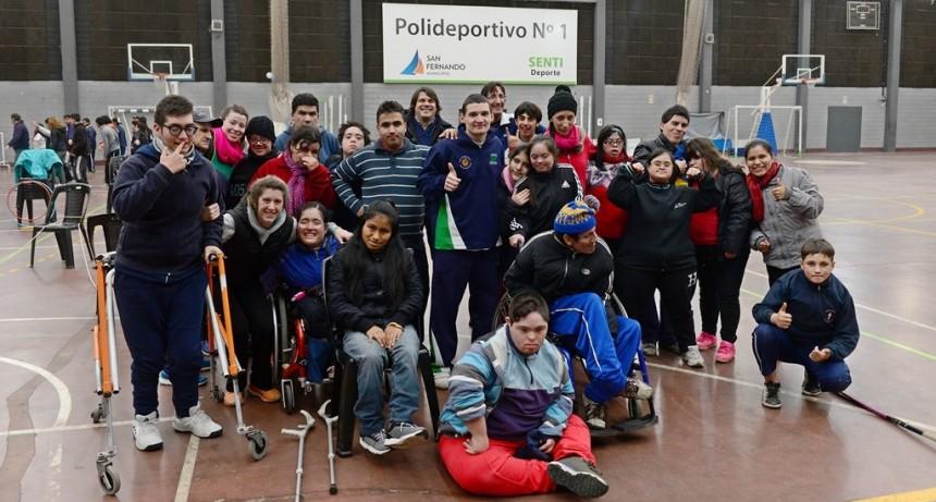 Comenzó la Colonia de Discapacidad de Invierno en San Fernando