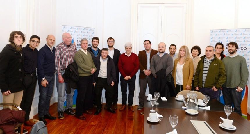 Luis Andreotti recibió a referentes de ConVocación por San Isidro