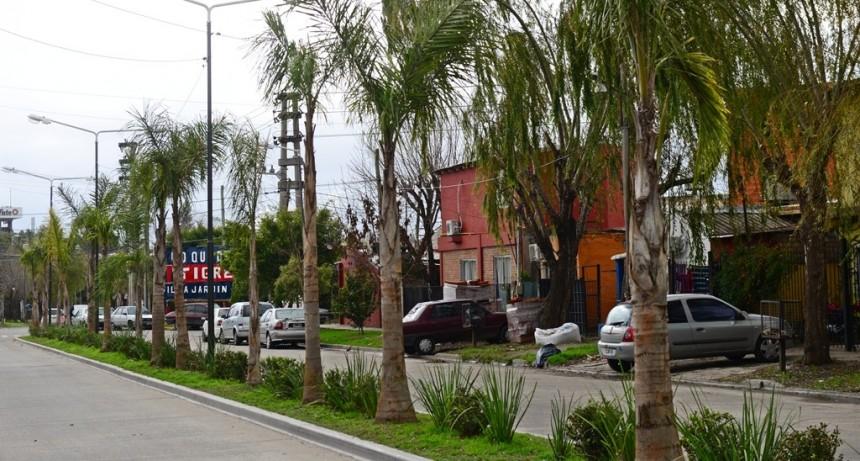 Continúa la mejora de espacios públicos en Villa Jardín