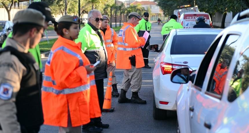 Continúan los operativos de tránsito en todo San Fernando