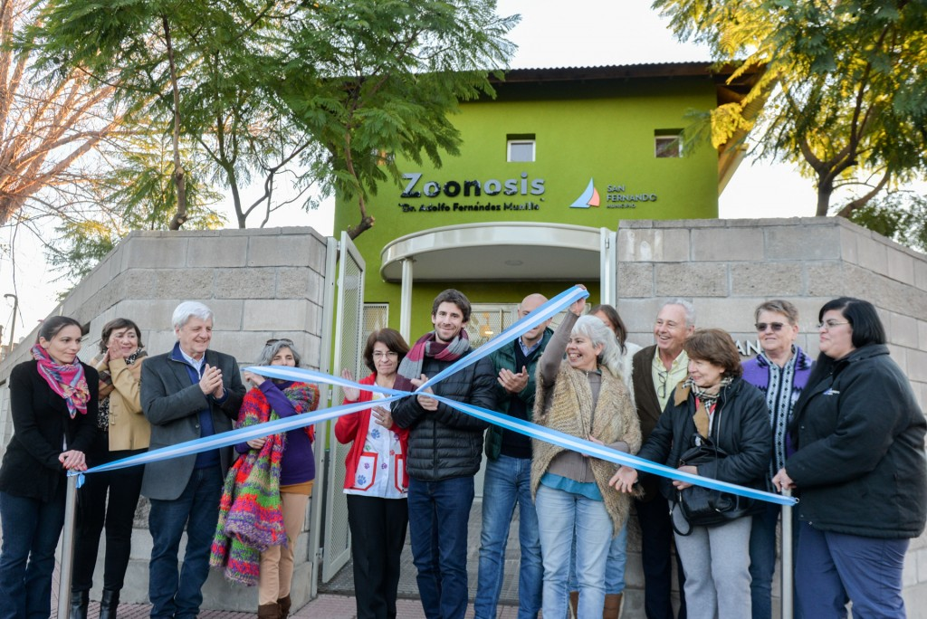 Andreotti inauguró el nuevo Centro Municipal de Zoonosis de San Fernando
