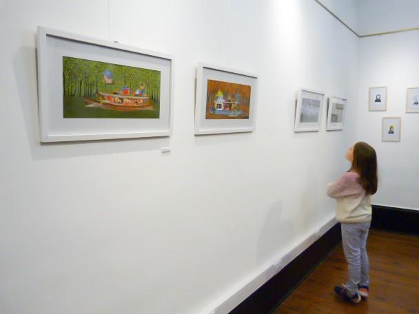 Muestra de Ilustradores en la Quinta El Ombú de San Fernando