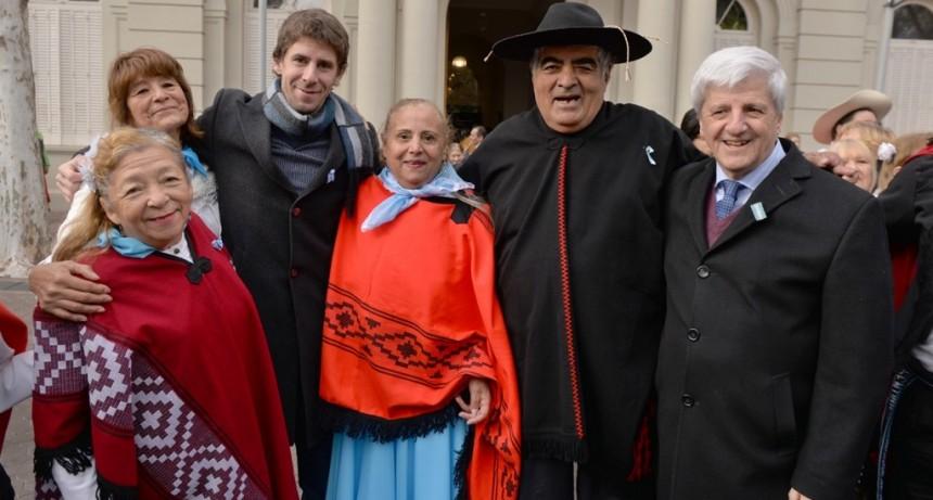 Luis Andreotti encabezó los festejos por Día de la Independencia en San Fernando