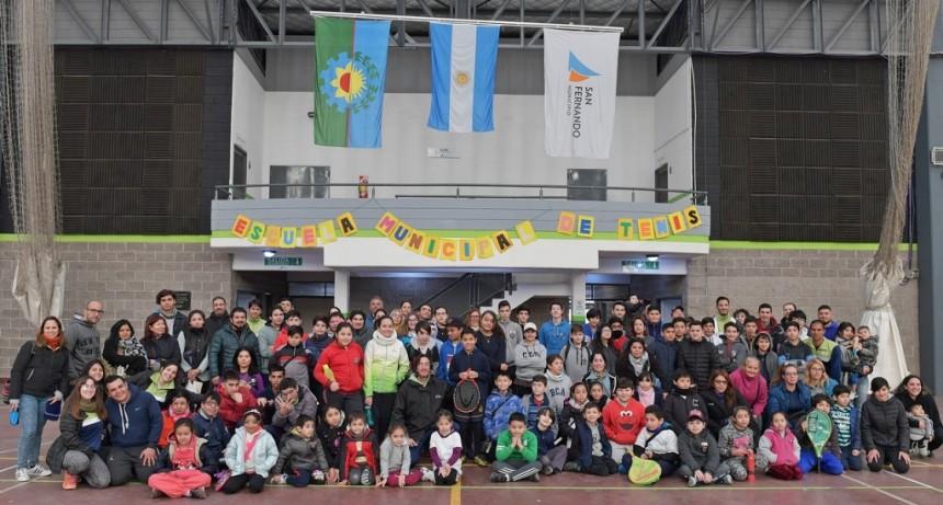 Se disputó en San Fernando un Torneo de Tenis Interpolis Inclusivo