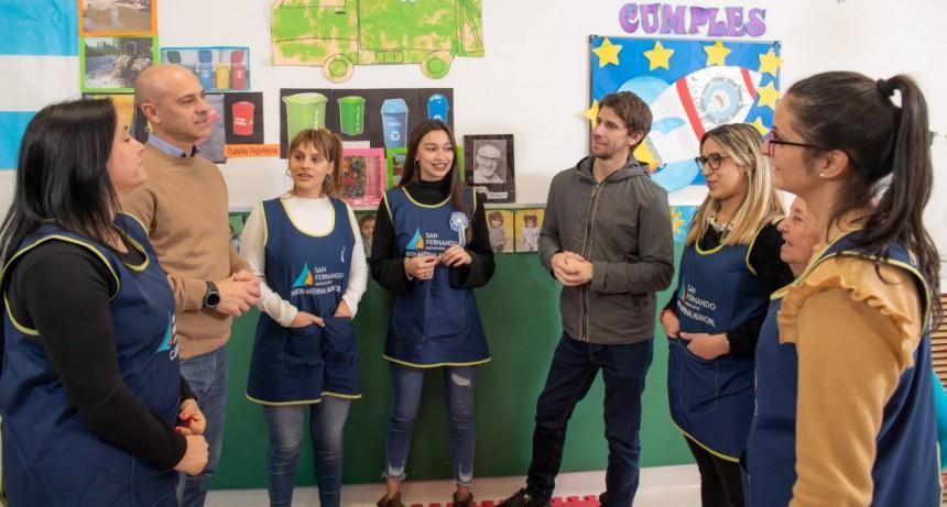 Andreotti participó de capacitaciones de salud en el aula para docentes de Jardines Maternales