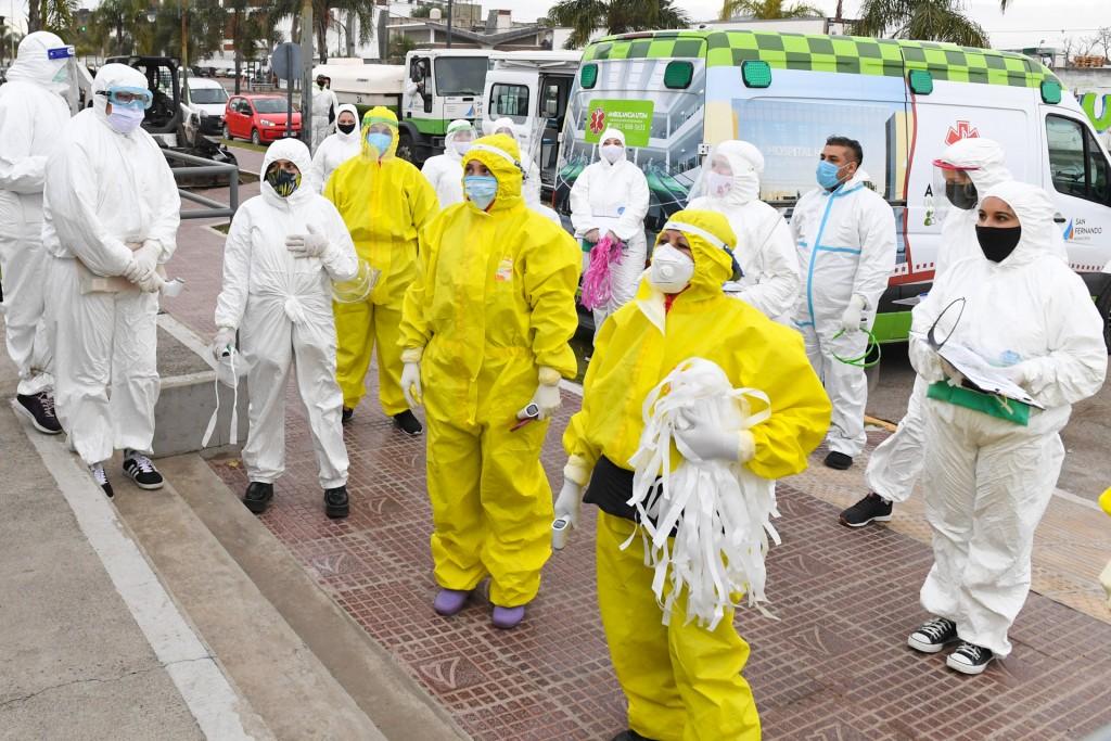 San Fernando: continúan sin pausa los operativos de detección de coronavirus en barrios