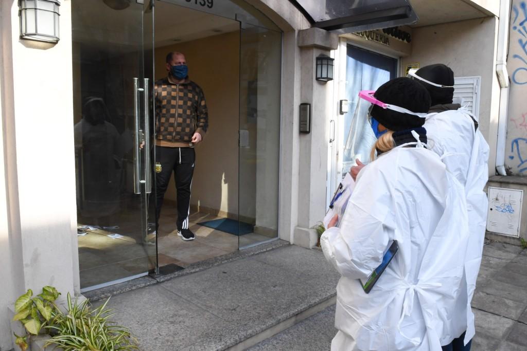 San Fernando inició el ´Operativo Prevenir´ para reforzar los cuidados de los vecinos casa por casa
