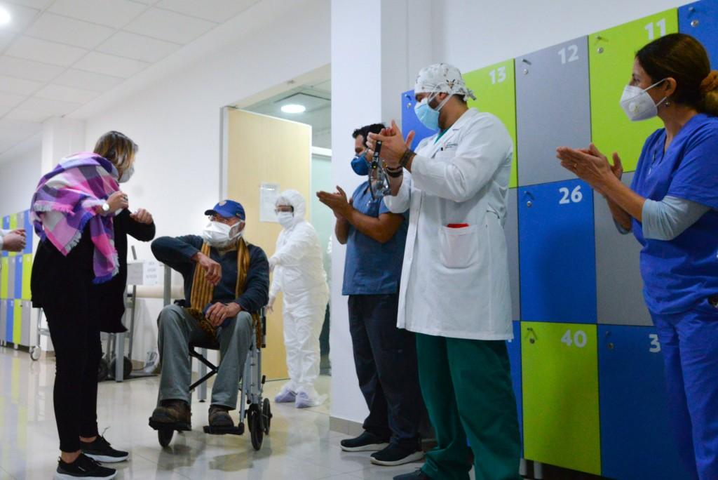 Se dio de alta al primer paciente de Coronavirus del Hospital Municipal de San Fernando