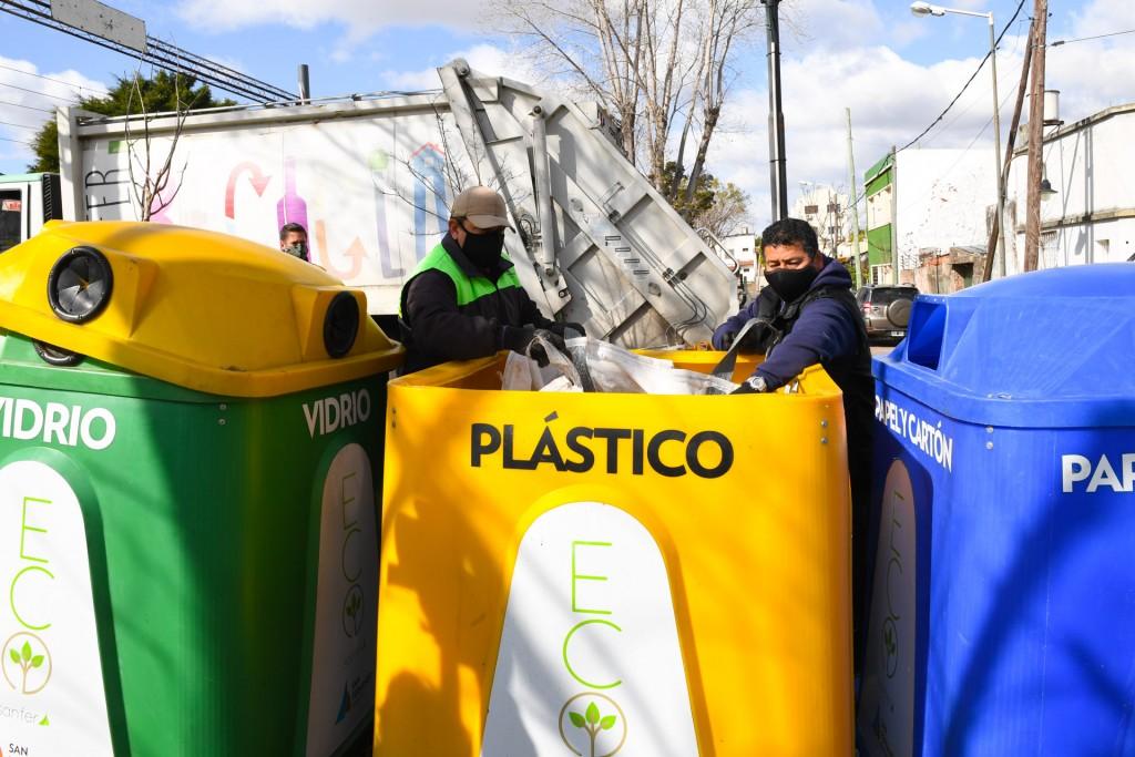 San Fernando: continúan las tareas de reciclaje en todo el distrito durante la cuarentena