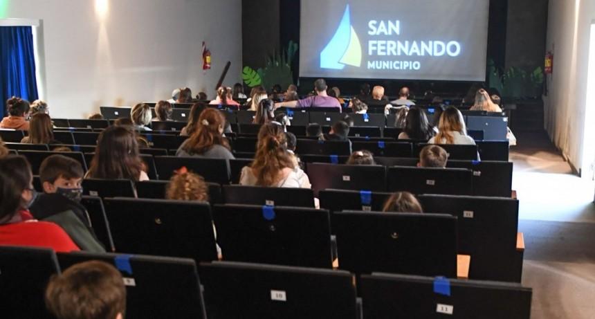 Con gran éxito, continúan los espectáculos infantiles de Vacaciones de Invierno con protocolos en San Fernando