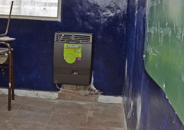 El Municipio de San Fernando sumó un total de 300 calefactores y realiza mantenimiento en escuelas y jardines