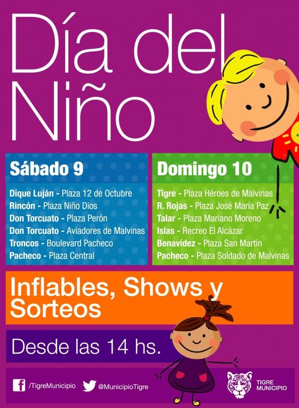 El Día del Niño se festeja en Tigre