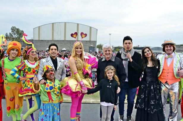 """Más de 20.000 vecinos de San Fernando disfrutaron el """"Día del Niño"""" con el espectáculo de"""