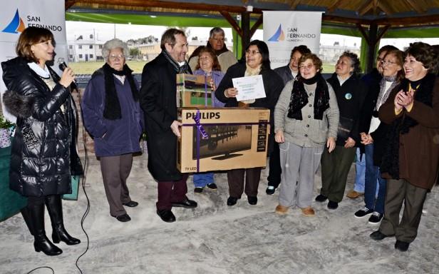 Programa de Reciclaje con Centros de Jubilados de San Fernando: se recolectaron 5 toneladas de envases