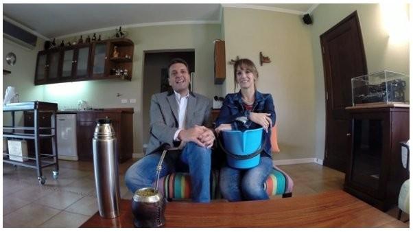 El trucho #IceBucketChallenge de Massa y su esposa