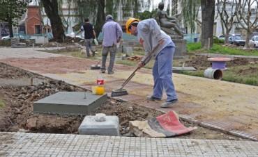 San Fernando: Comienza la última etapa de las obras en la Plaza San Martín