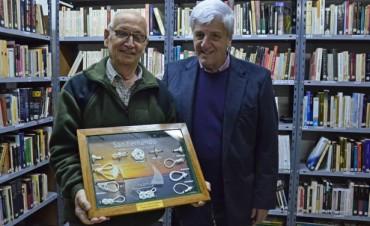 Luis Andreotti presente en el 15° aniversario de la Biblioteca Leopoldo Murcho