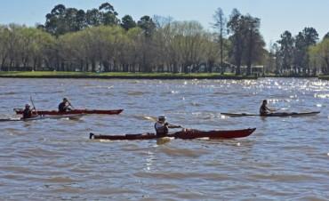Remo y Canotaje se practica a pleno en el Polideportivo Náutico N° 3