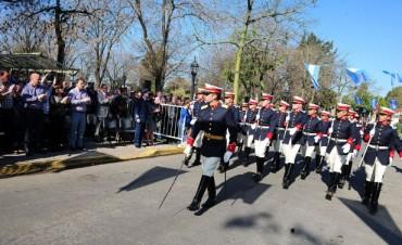Tigre homenajeó al General San Martín en Don Torcuato