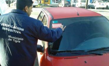 Operativo de fiscalización de automotores con deudas de patentes