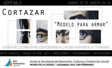 Homenaje a Julio Cortázar en el Museo de la Ciudad de San Fernando