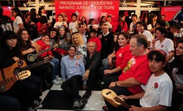 Cena solidaria por las orquestas infanto-juveniles de Tigre